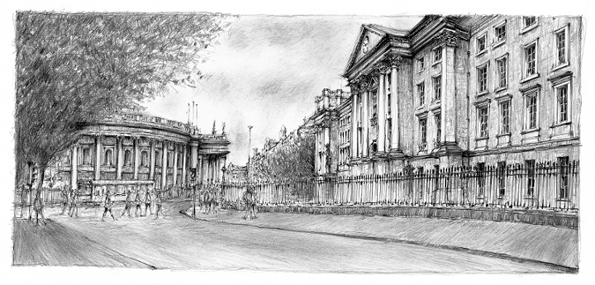 Trinity College Dublin Drawing