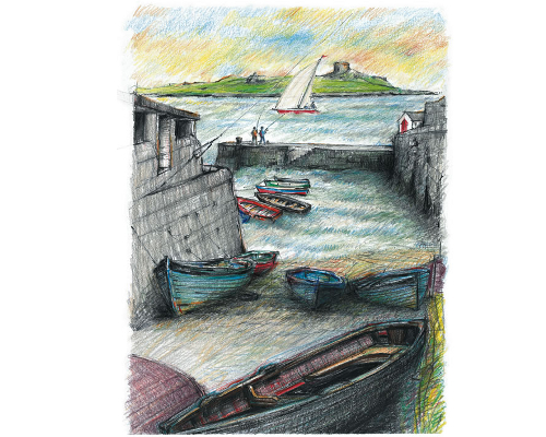 Coliemore Harbour Dalkey