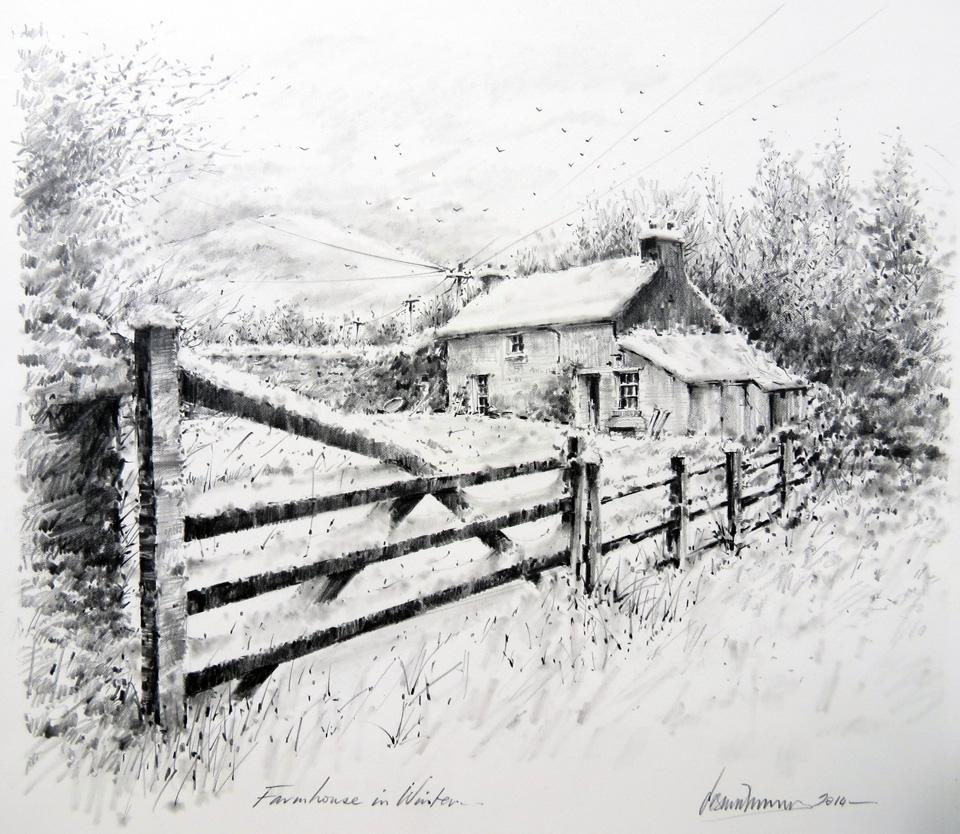 Farmhouse In Winter Desmond Mccarthy
