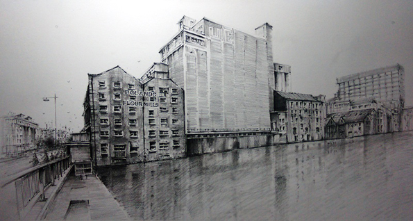 Bolands Mill Grand Canal Dock Dublin