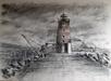 Poolbeg Lighthouse Dublin Bay