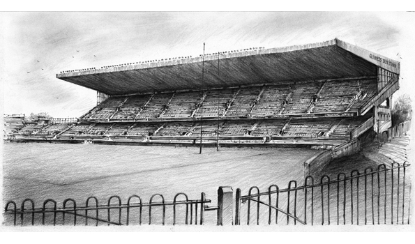 Lansdowne Road Series: East Stand