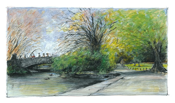 Limited Editions: St. Stephen's Green Dublin