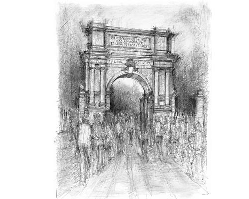 Dublin Fusiliers Arch