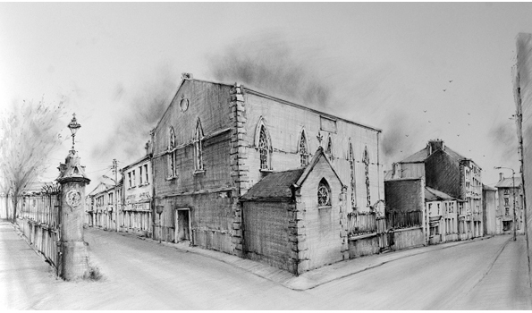 Pencil Drawings: Wesleyan Methodist Chapel Wexford