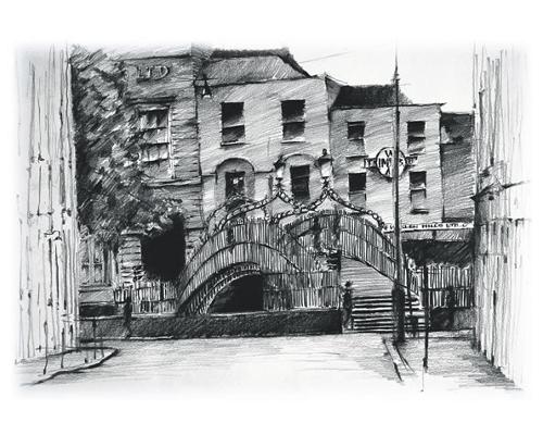 Haypenny Bridge Dublin