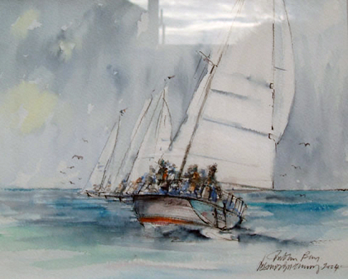 Sailing Dublin Bay
