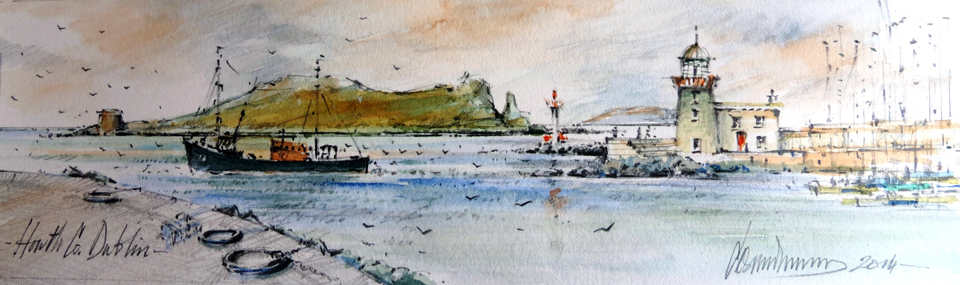howth-dublin-watercolour